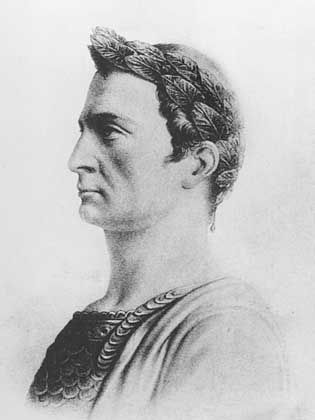 Julius Caesar: Auch dieser freundliche Feldherr empfiehlt Latein