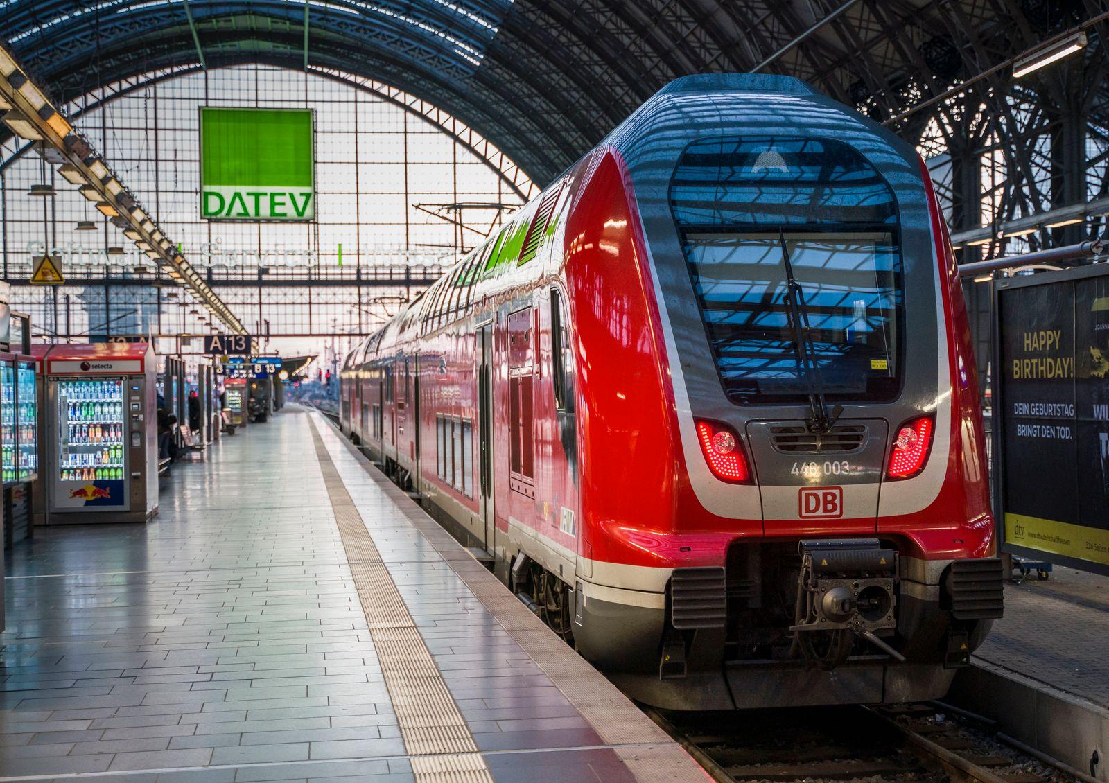 Coronavirus - Bahn schränkt Regionalverkehr ein