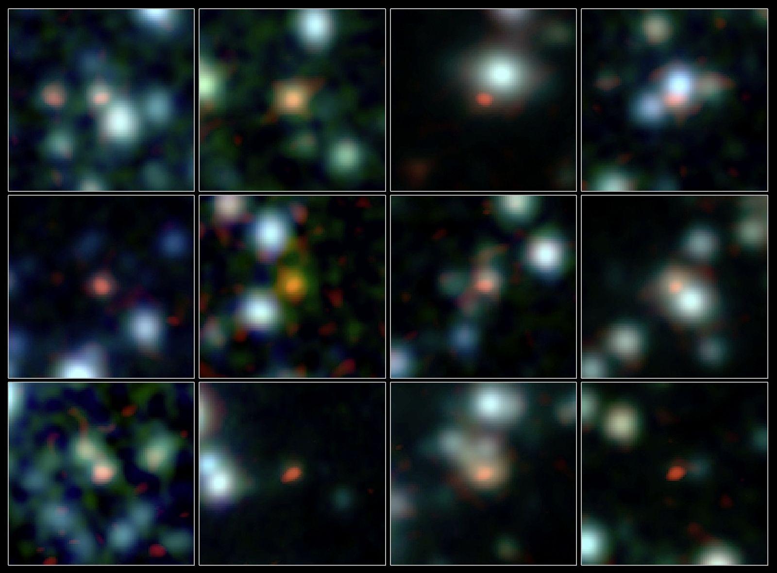 EINMALIGE VERWENDUNG Galaxienfabrik / ALMA Teleskop