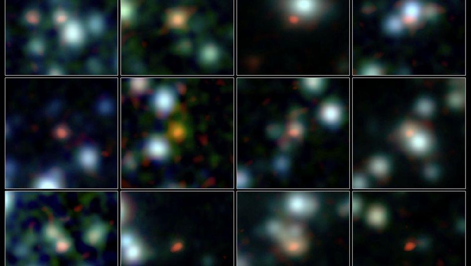 Sternfabrik: 12,8 Milliarden Lichtjahre entfernt