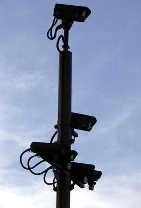Überwachungs- kameras: Angst vor der totalen Kontrolle