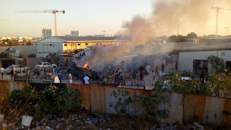 Gefechte in Tripolis