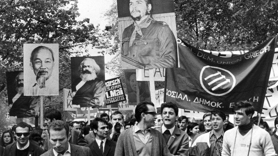 68er-Demo in München