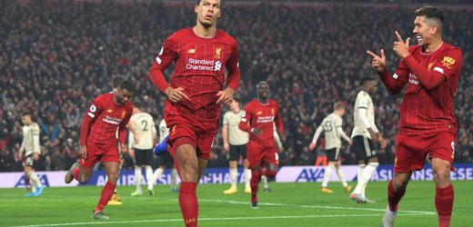 Premier League: FC Liverpool gewinnt trotz Chancen-Wucher gegen Manchester United