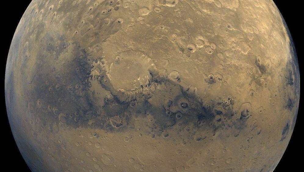 Krater auf dem Mars: Narben der Frühzeit