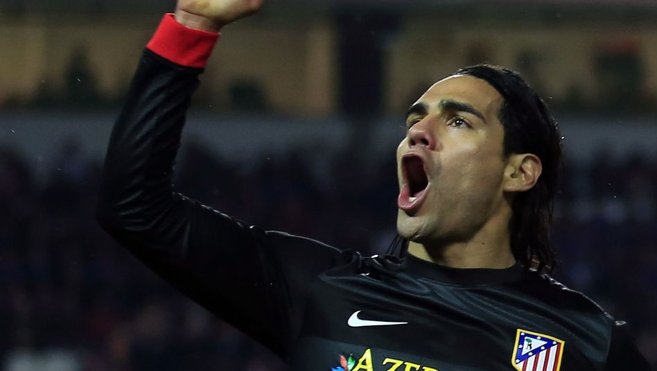 Atletico-Angreifer Falcao: Torschütze gegen Sevilla