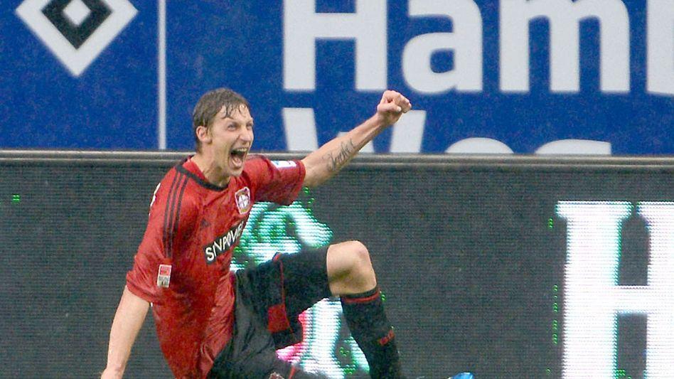 Leverkusens Kießling: Torschützenkönig in der 90. Minute am 34. Spieltag