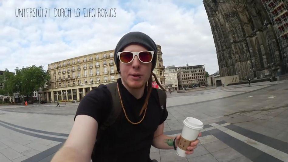 Beginn eines Simon-Unge-Videos: LG wird als Unterstützer genannt