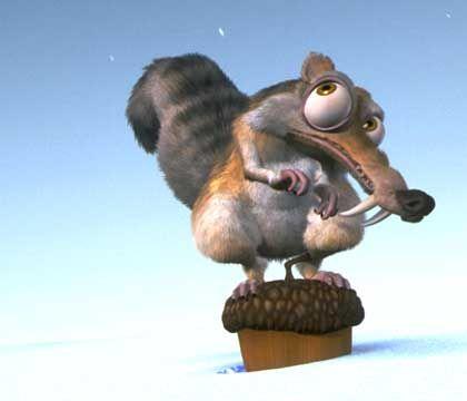 Heimlicher Held: Prähistorisches Eichhörnchen Scrat