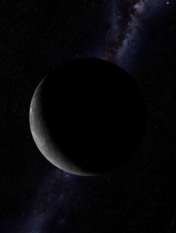 Planet Merkur: Ein Durchmesser von 4880 Kilometern