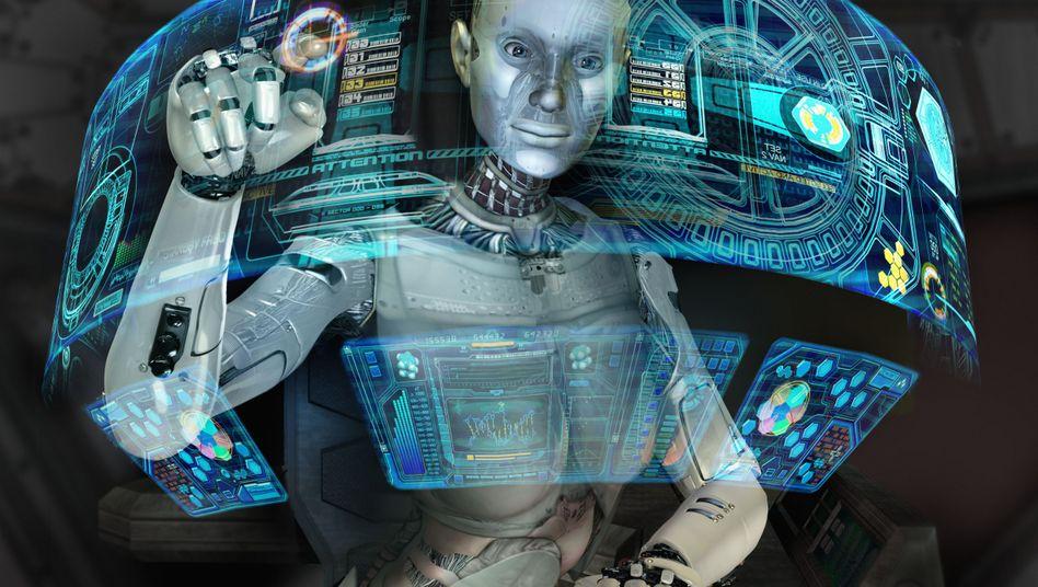Roboter (Symbolbild): Ist der Mensch ein Auslaufmodell?