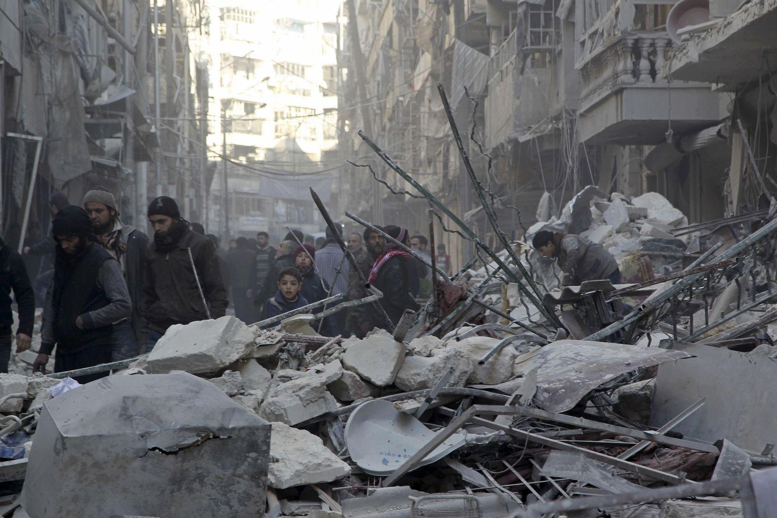 Aleppo/ Syrien/ Konflikt