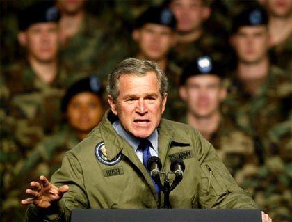 """Bush: """"Aura der Gotterwähltheit"""""""