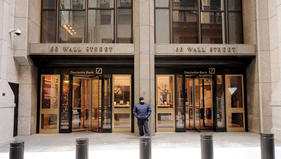 Deutsche Bank in New York: Klagewelle von Investoren