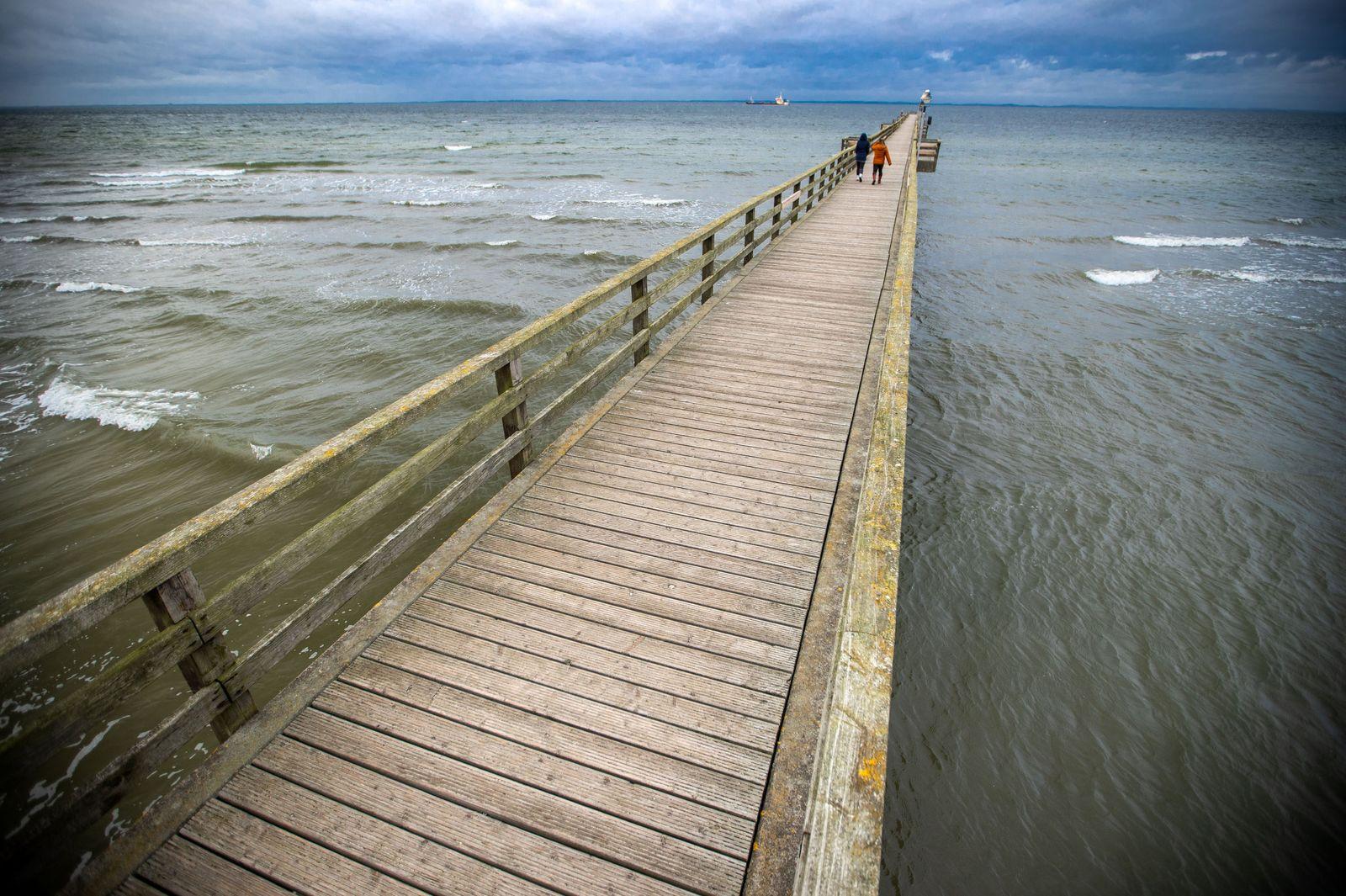 Herbstwetter an der Ostsee