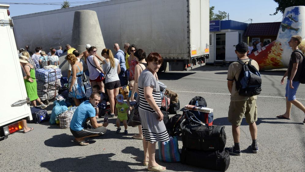 Ukraine-Krise: Flüchtlinge in Russland