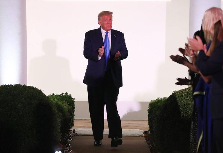 Will eine zweite Amtszeit als US-Präsident: Donald Trump