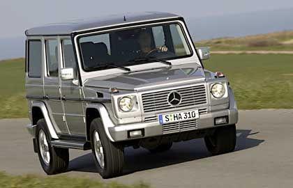 Mercedes G55 AMG: Rasendes Möbelstück