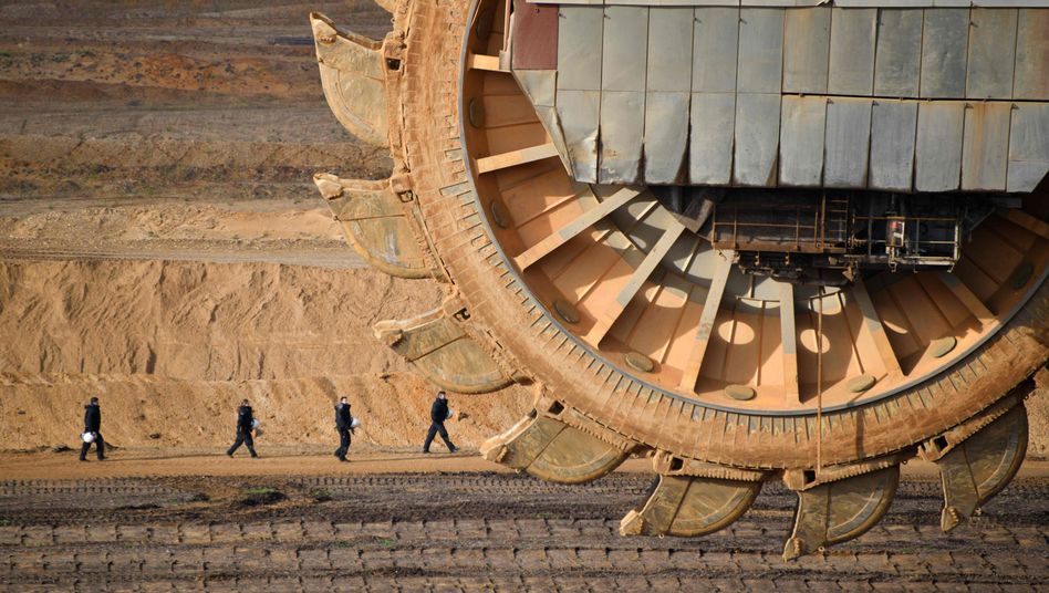 Braunkohle-Tagebau