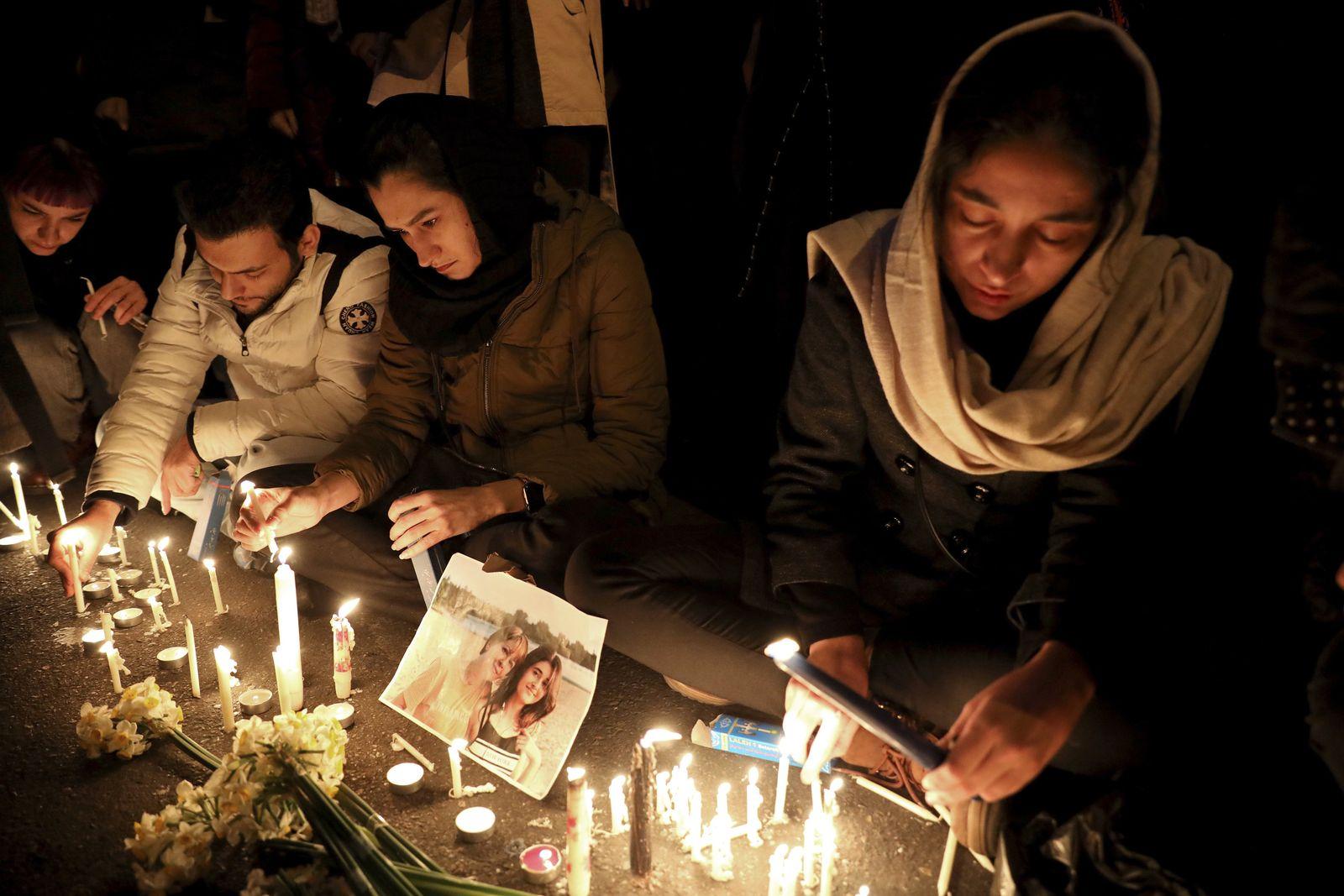 Nach dem Flugzeugabsturz im Iran