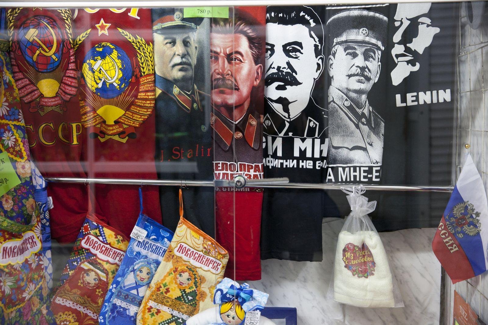 EINMALIGE VERWENDUNG SPIN SP 31/2019 S. 42 Stalin Verehrung Russland