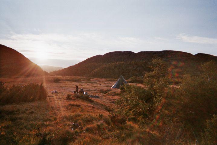 Letzter Morgen in der Wildnis
