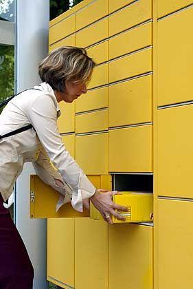 Packstation: Mit Chipkarte und PIN zum Paket