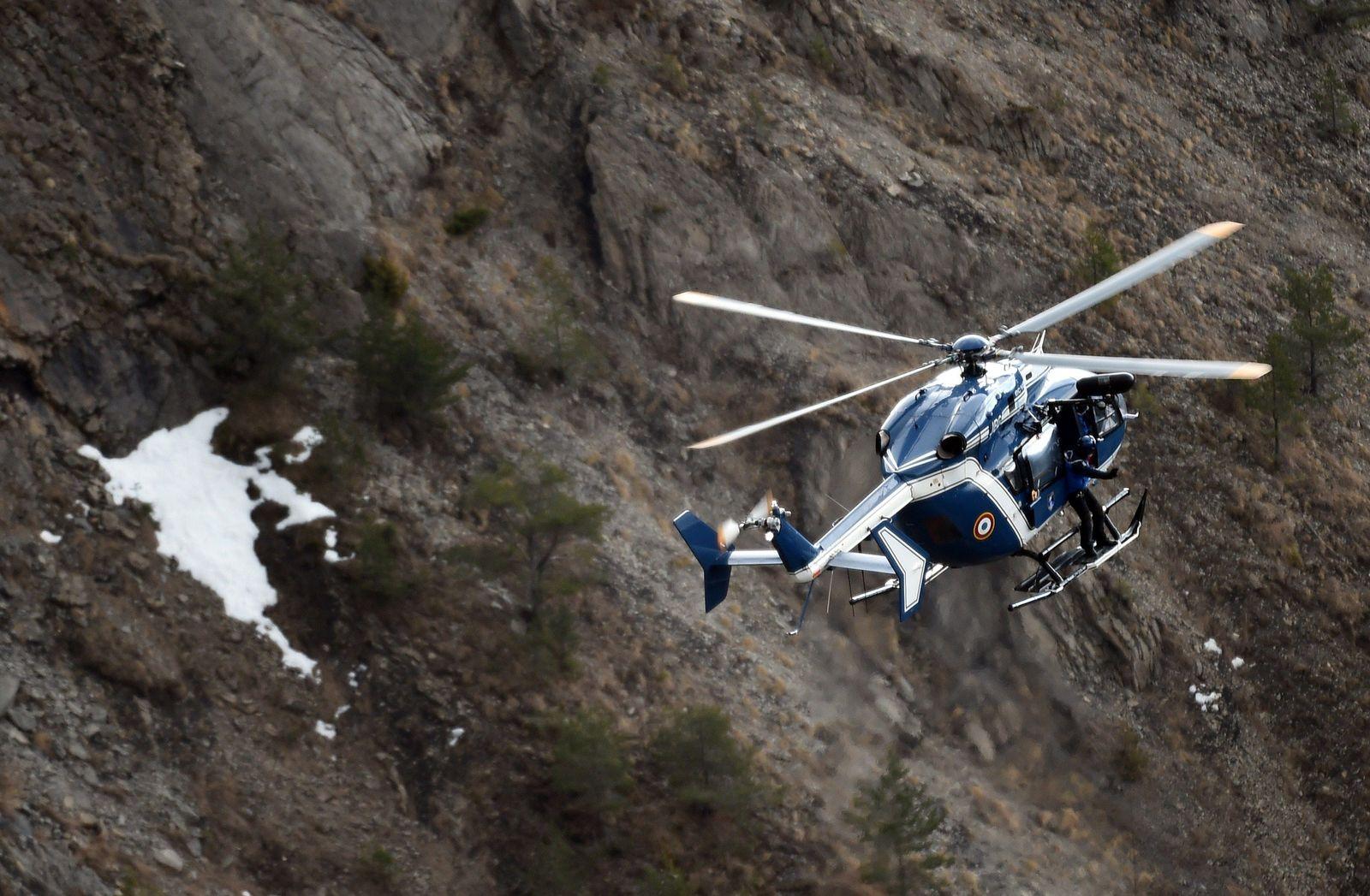 Helikopter Alpen