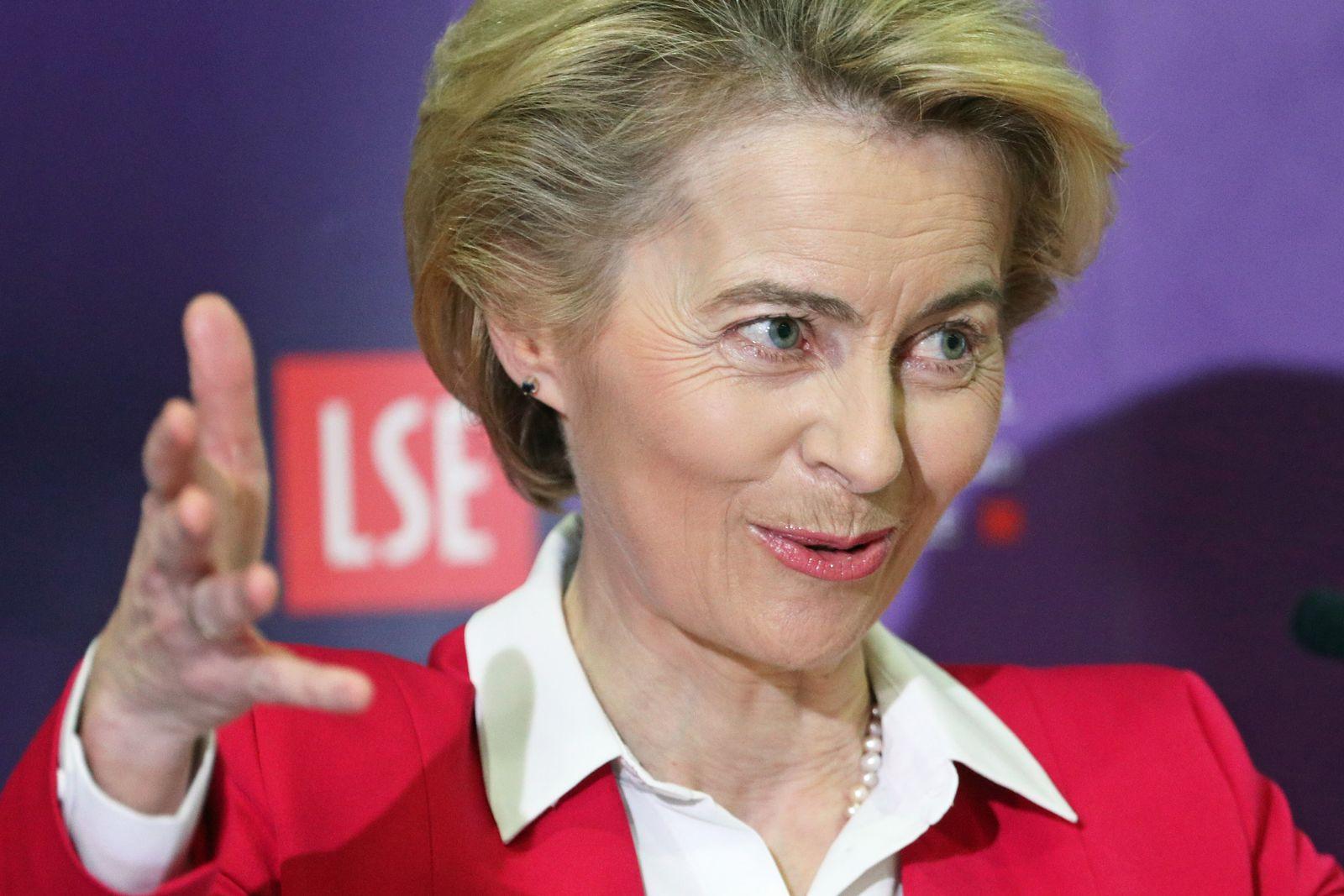 EU-Kommissionspräsidentin von der Leyen in London