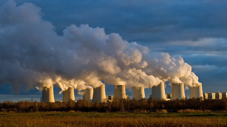 Braunkohlekraftwerk in Brandenburg: