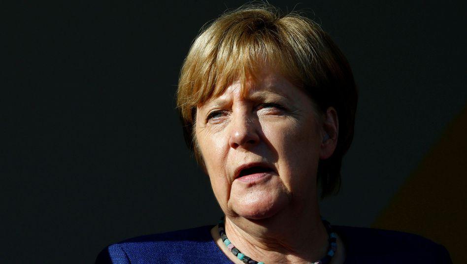 CDU-Vorsitzende Merkel