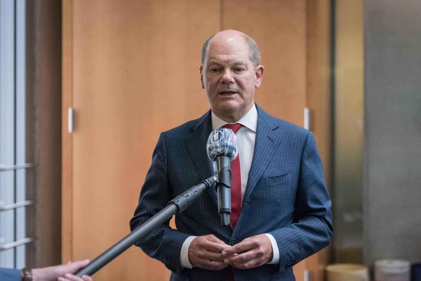 Berlin, Olaf Scholz im Interview Deutschland, Berlin - 01.07.2020: Im Bild ist Olaf Scholz (Vizekanzler, Finanzminister
