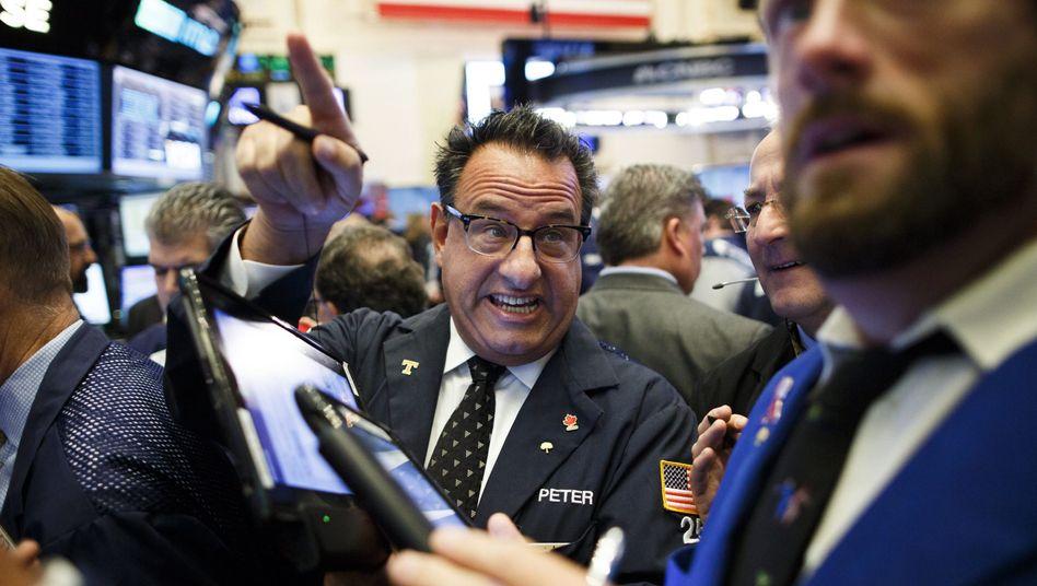 New Yorker Börse nach Trumps Wahl