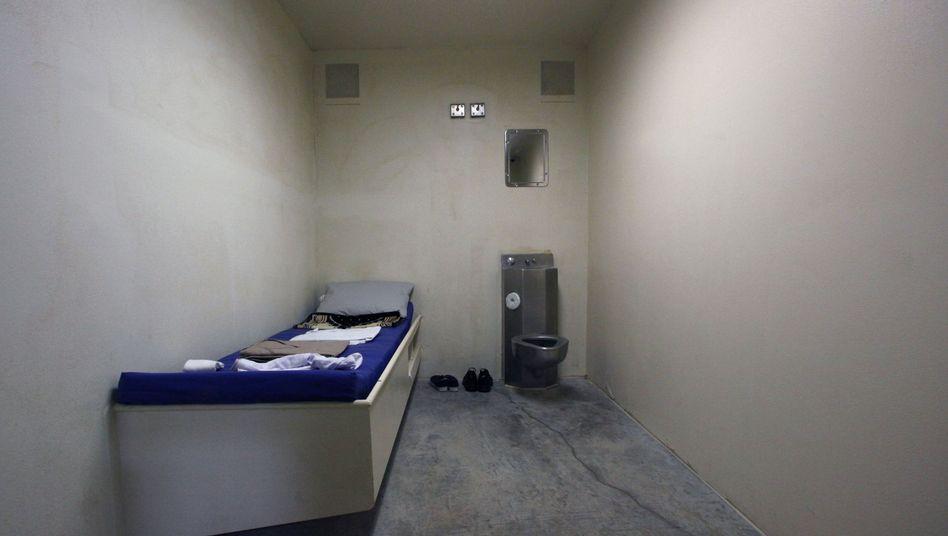 Zelle in Guantanamo: US-Bürger unterstützen die CIA