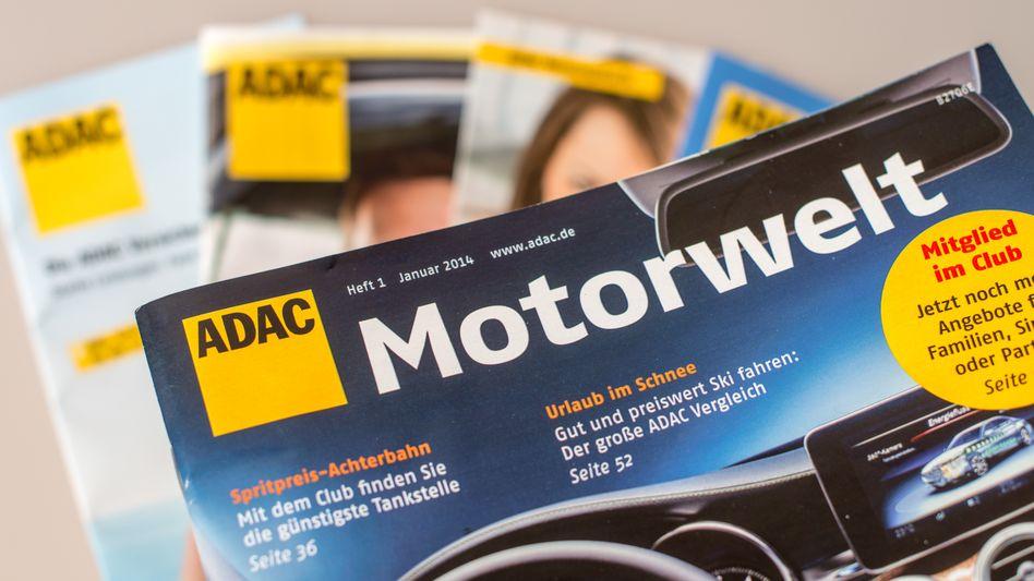 """Mitgliederzeitschrift """"ADAC Motorwelt"""""""