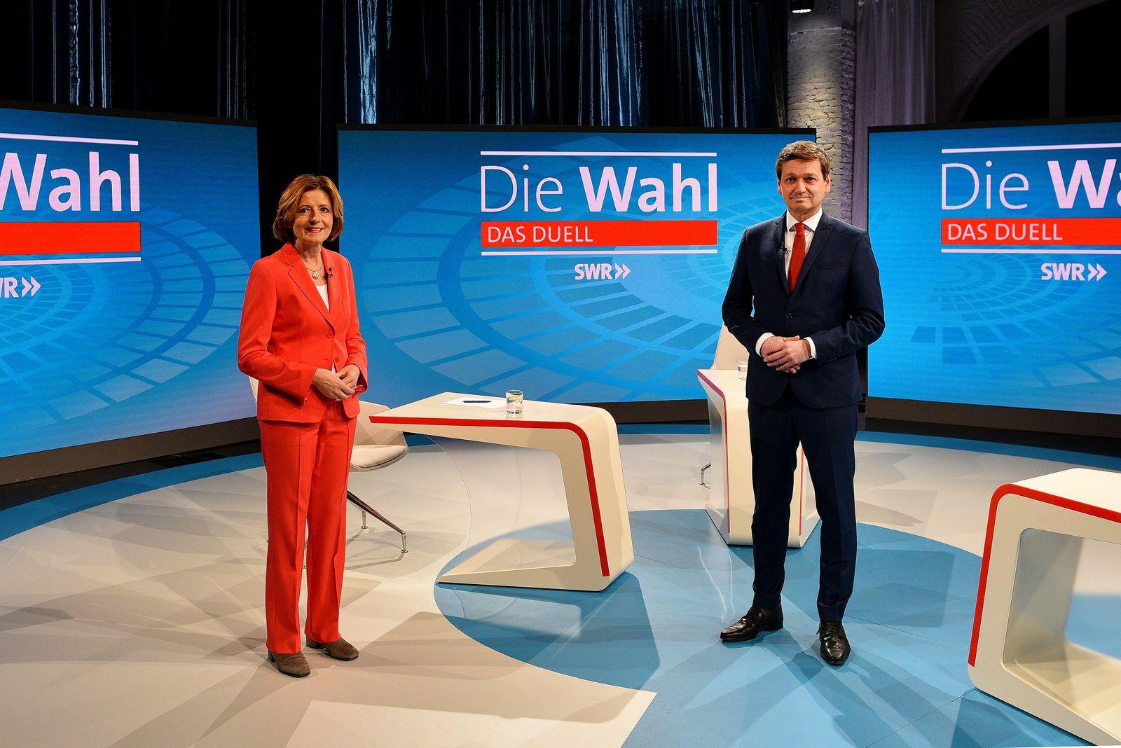 SWR Fernsehen - Duell Baldauf gegen Dreyer