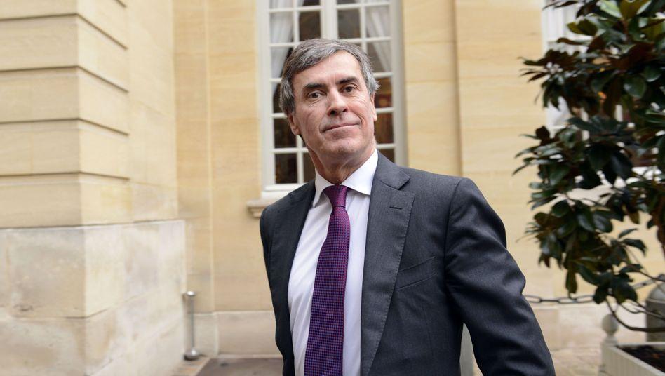 Ex-Haushaltsminister Cahuzac: Existenz eines Auslandskontos zugegeben