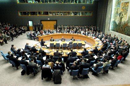 Aus amerikanischer Sicht stimmt der Sicherheitsrat nicht über Krieg oder Frieden ab