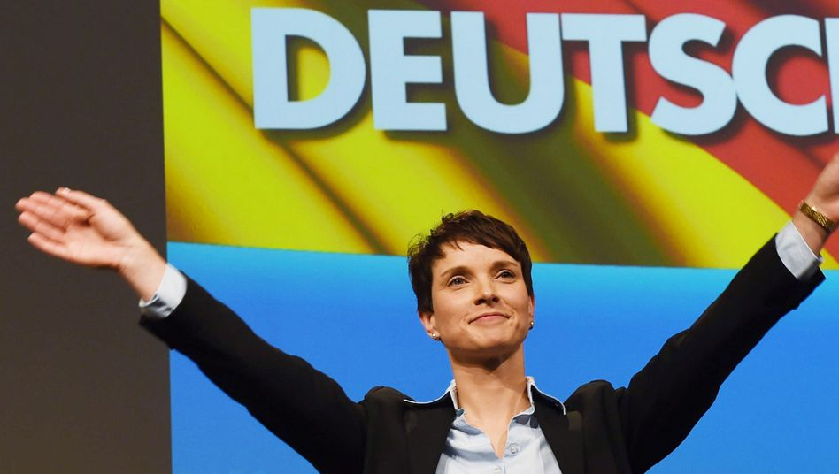 AfD-Vorsitzende Petry: Woher kommt ihre Wut?
