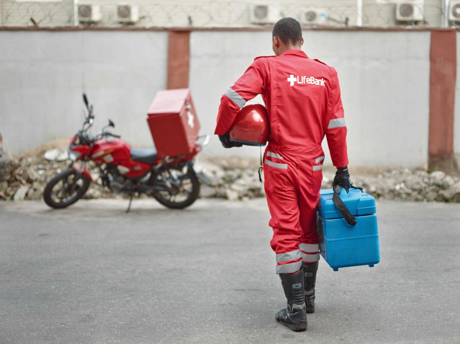 EINMALIGE VERWENDUNG Nigeria / LifeBank