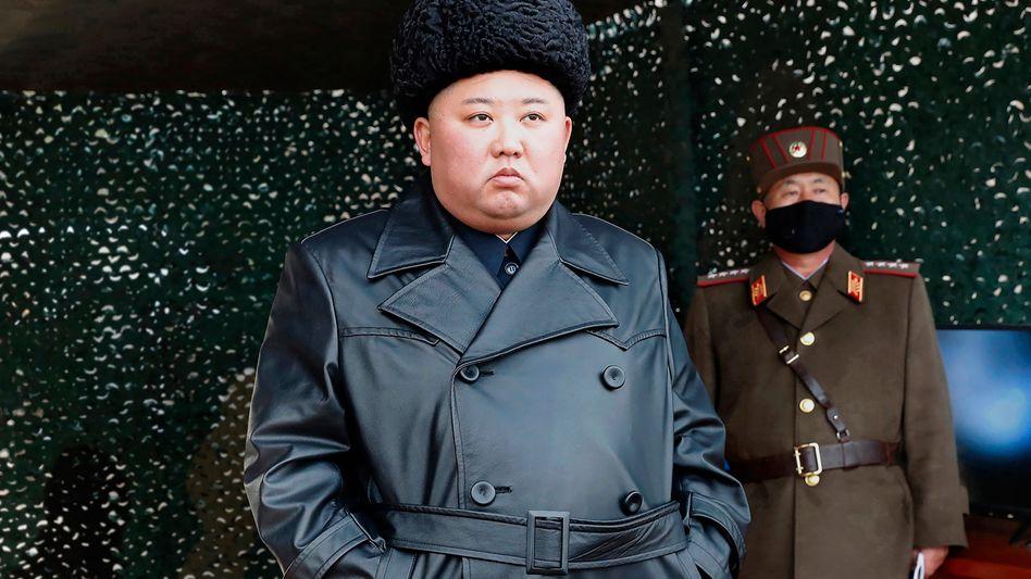 Nordkorea Machthaber Kim Jong Un