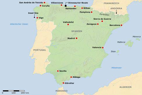 Spanien: Ein Klick und Sie finden San Andrés de Teixido