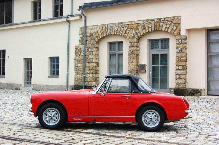 MG Midget: Ein vergleichsweise günstiger Oldtimer-Roadster