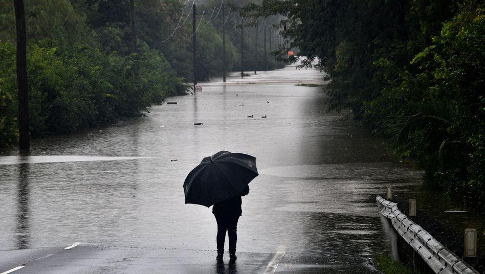 Überschwemmungen nordwestlich von Sydney