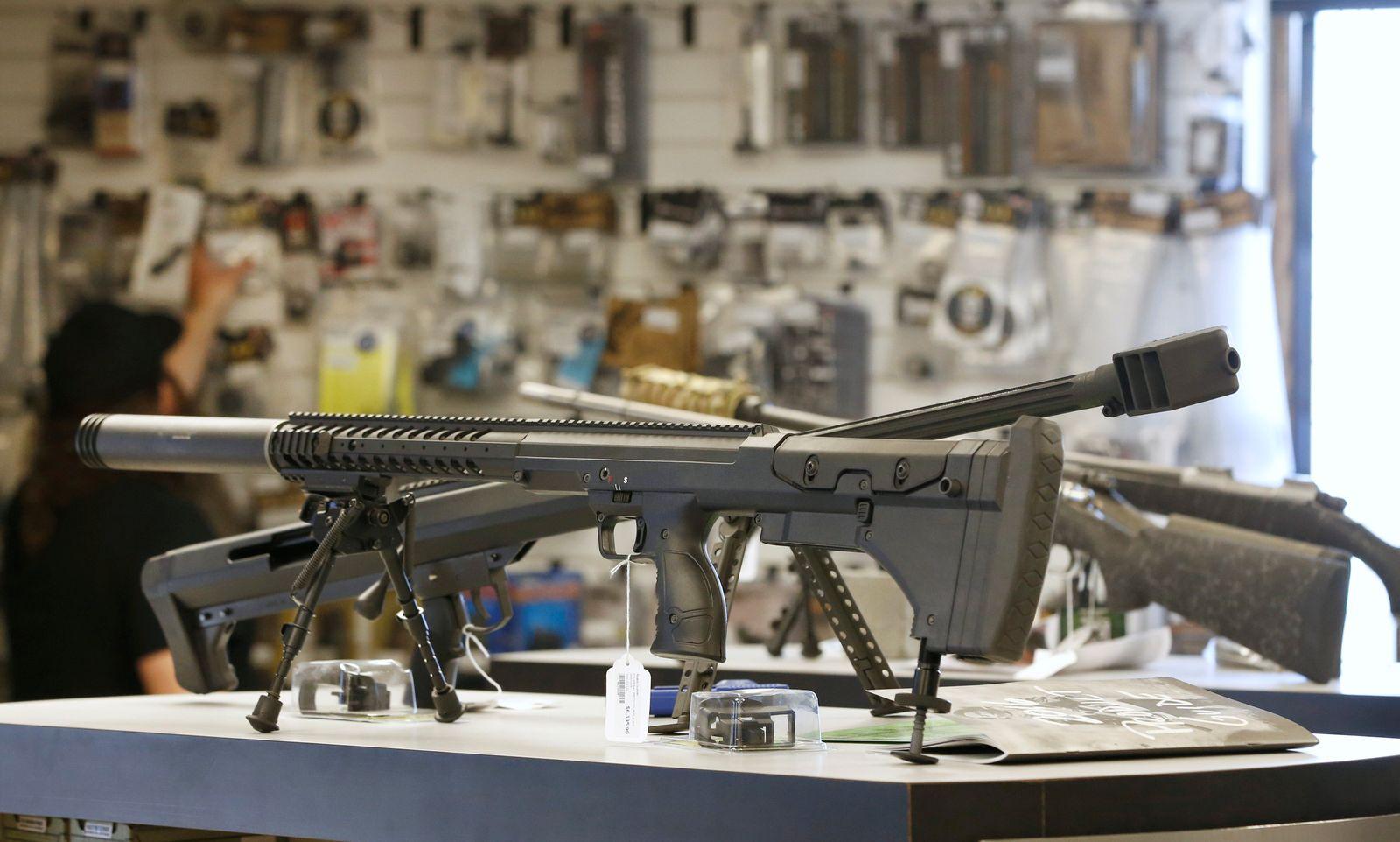 USA Waffen Waffengeschäft
