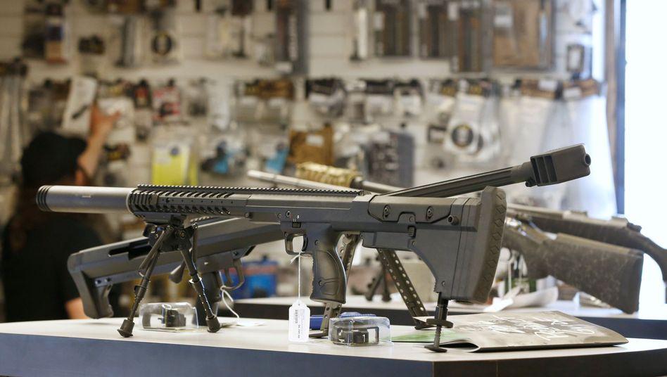 """Waffengeschäft im US-Bundesstaat Utah: """"Regierung ist unwillig, für Schutz zu sorgen"""""""