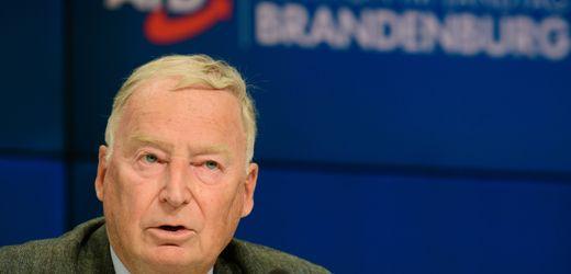 AfD: Alexander Gauland hält Entscheidung über Andreas Kalbitz für klug