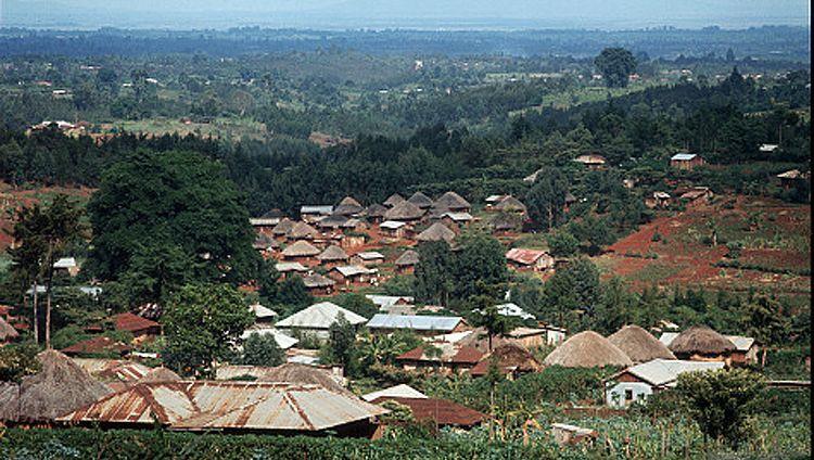 Dorf in Kenia