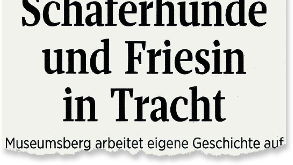 Aus den »Kieler Nachrichten«