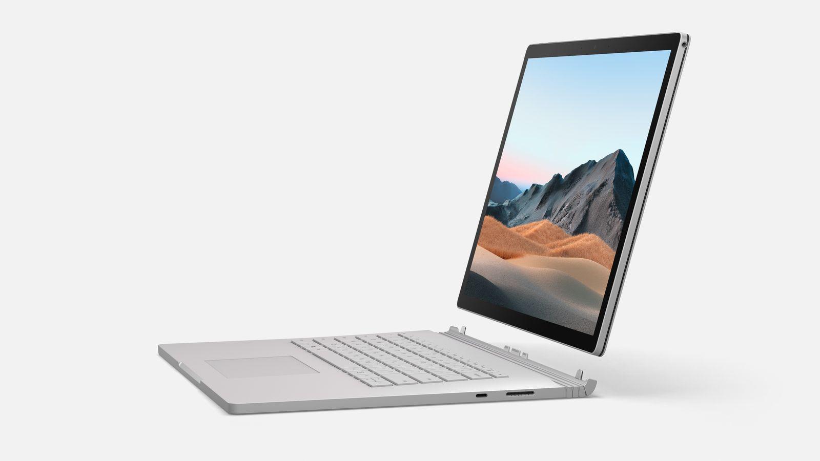 Surface Book 3 - Render 4 / SPERRFRIST 6.5. 15 Uhr
